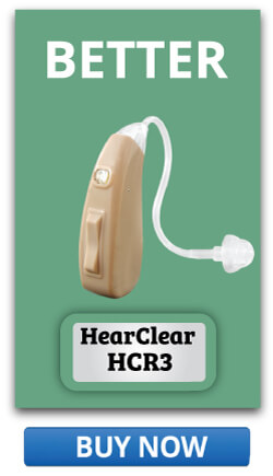 Better option Rechargeable Hearing Aid HearClear HCR3