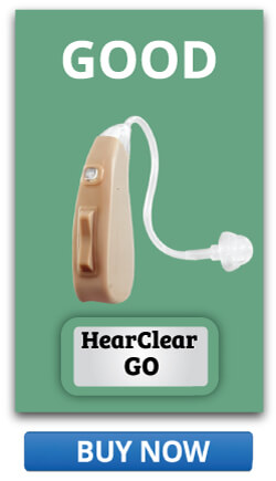 Good option Rechargeable Hearing Aid HearClear GO