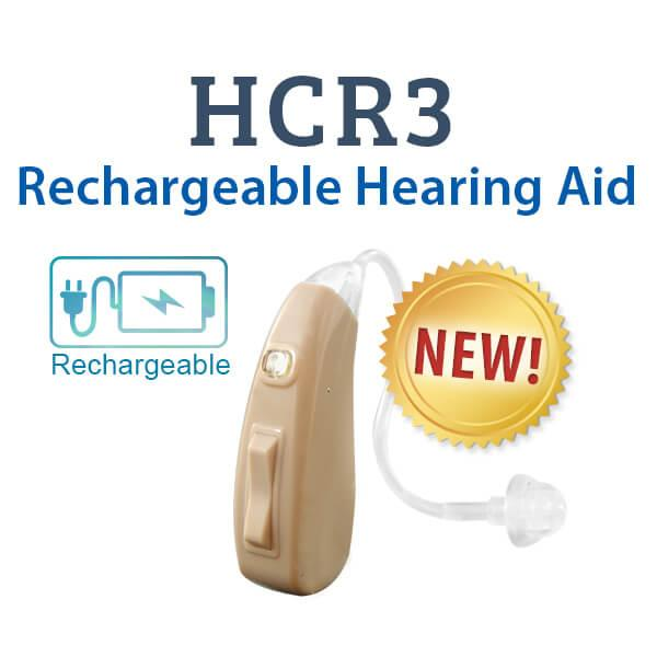 HCR3 Rechargeable Hearing Aid