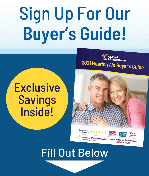 Sign Up For the Hearing Aid Buyer's Guide