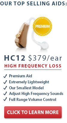 HCX Hearing Aid photo