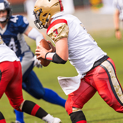 Football player could be damaging hearing health