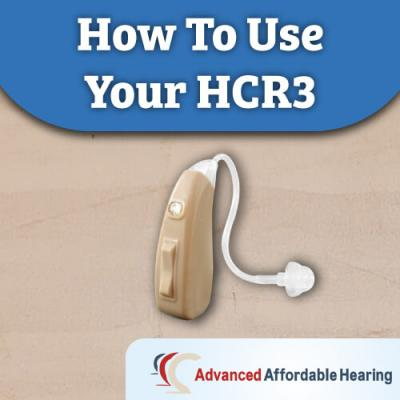 How to Use Your HCR3
