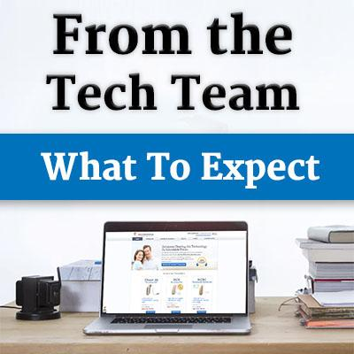 From the Tech Team: What To Expect