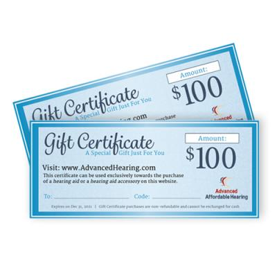 Gift Certificate Product $100