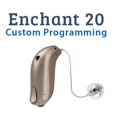 Sonic Enchant 20 Digital Hearing Aid Custom Programming
