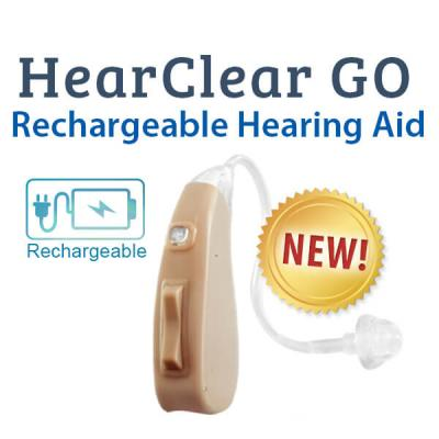 HearClear GO Rechargeable Digital Hearing Aid