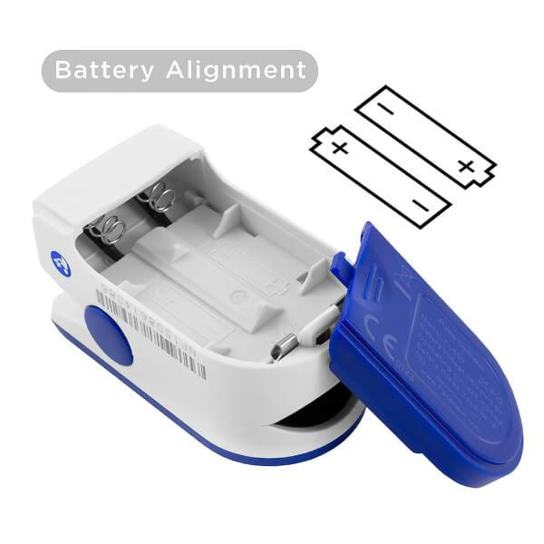 Finger Pulse Oximeter Batteries