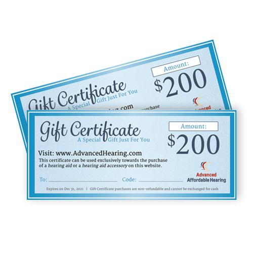Gift Certificate Product $200