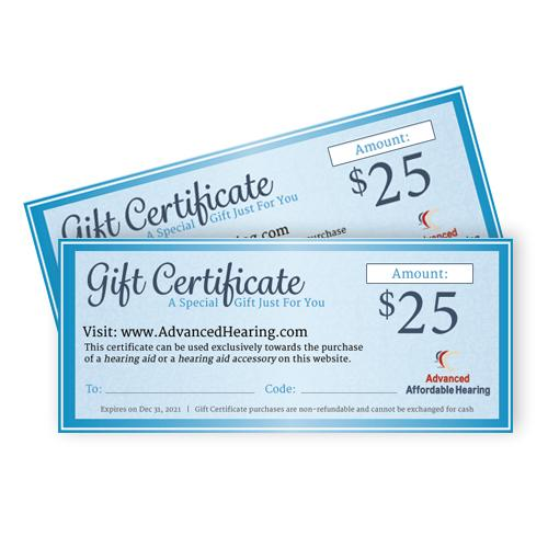Gift Certificate Product $25