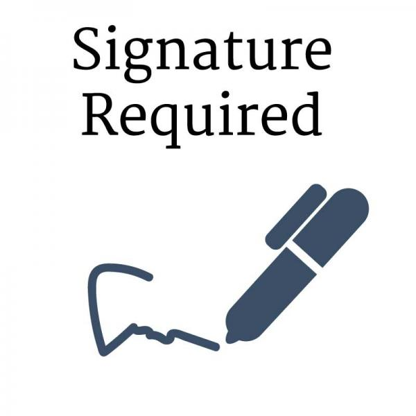 Signature Required Shipping Add On Advanced Affordable