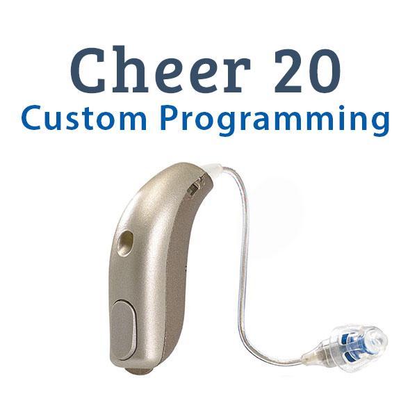 Sonic Cheer 20 Custom Programming