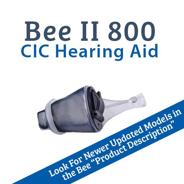 Affordable Hearing Aids >> Bee Ii 800 Cic Digital Hearing Aid Advanced Affordable Hearing