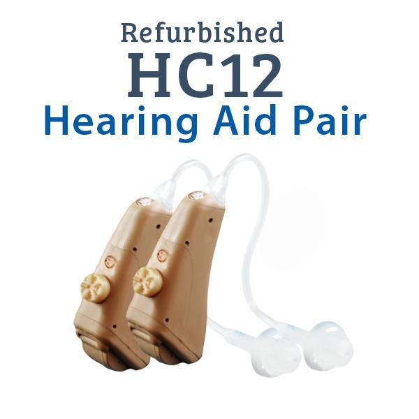 Refurbished HearClear HC12 Digital Hearing Aid Pair