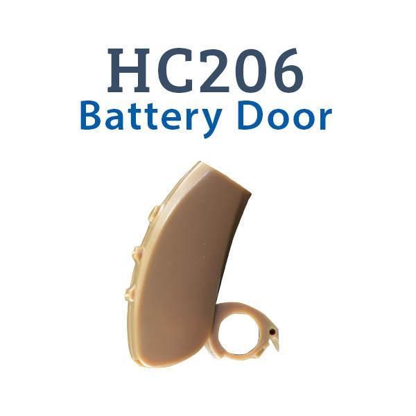 HC206 Digital Hearing Aid Battery Door