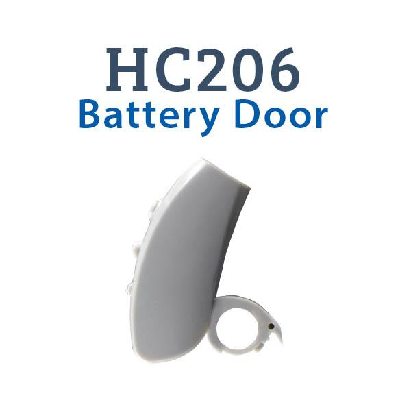 HC206 Digital Hearing Aid Battery Door