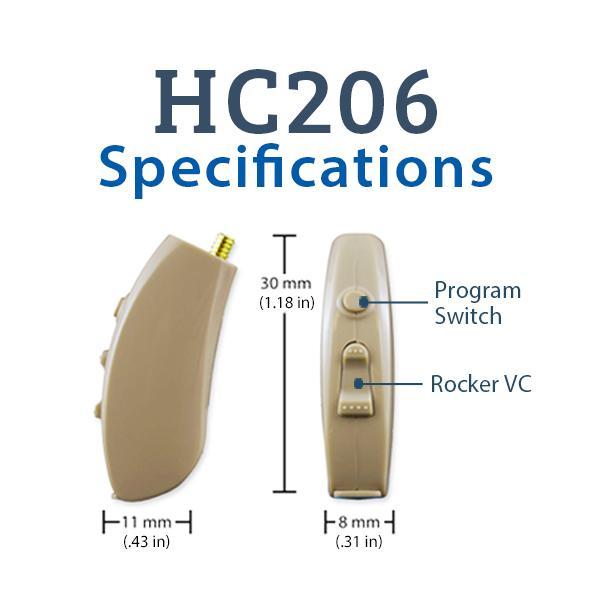 HC206 Digital Hearing Aid | Advanced Affordable Hearing