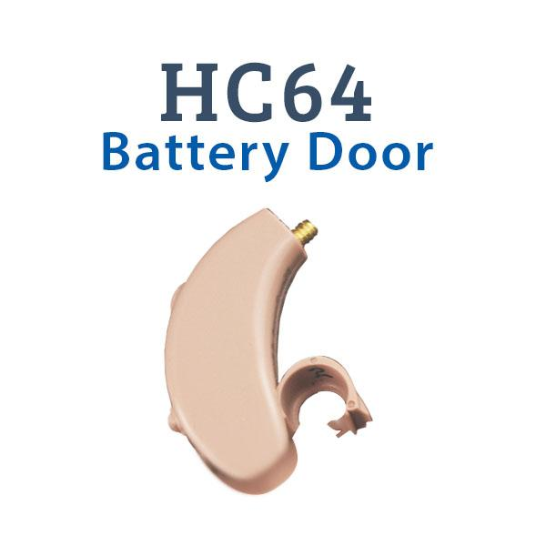 HC64 Digital Hearing Aid Battery Door