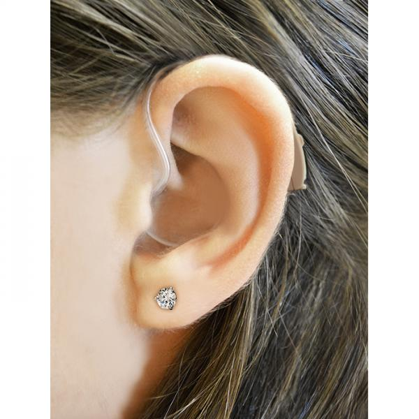 HCEQ Digital Hearing Aid on ear