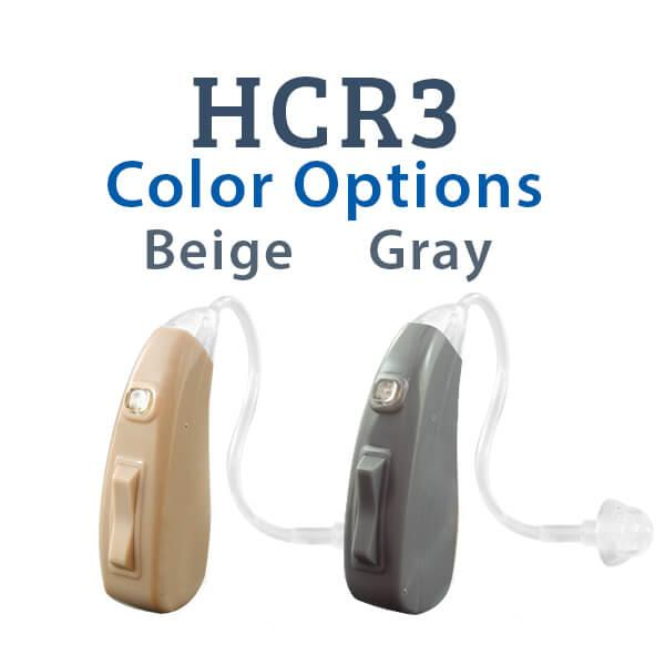 HCR3 Color options Beige and Gray