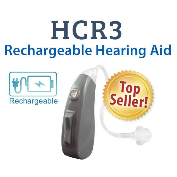 HCR3 Rechargeable Digital Hearing Aid