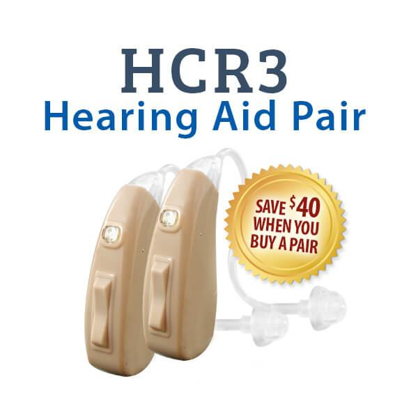 Miracle Ear Hearing Aids >> HearClear HCR3 Rechargeable Hearing Aid - Beige | Advanced ...