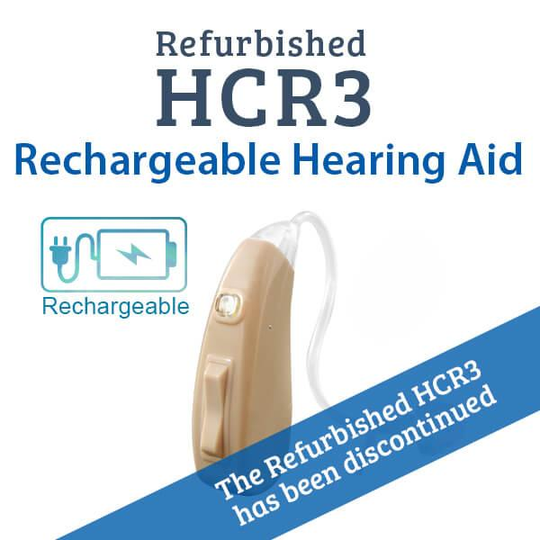 Refurbished HCR3 Rechargeable Digital Hearing Aid