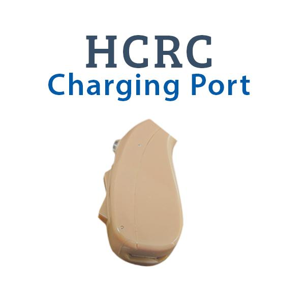 HCRC Rechargeable Digital Hearing Aid Charging Port