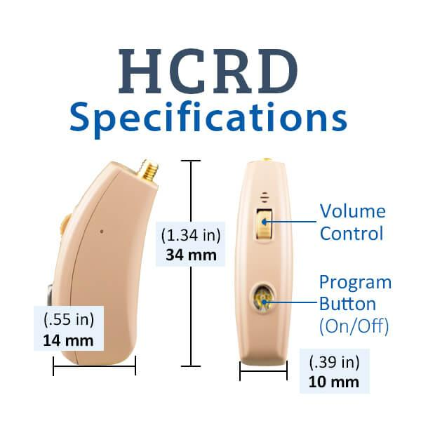 HCRD Specifications