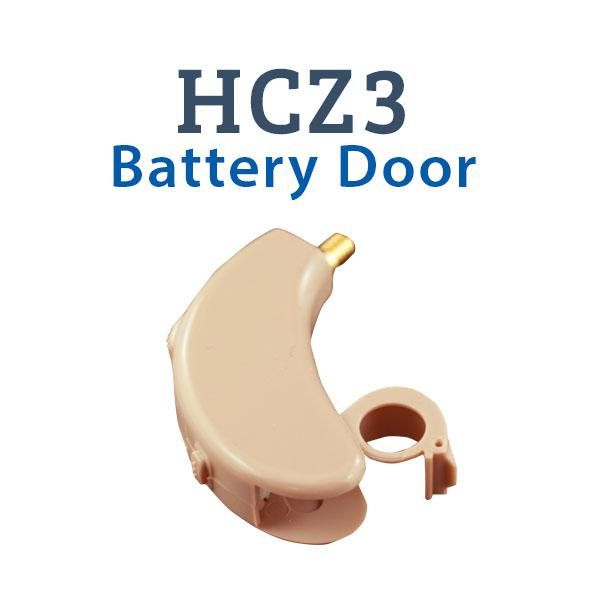 HCZ3 Digital Hearing Aid Battery Door Operation