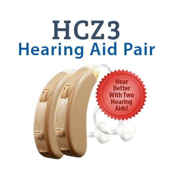 HCZ3 Digital Hearing Aids - Hear Better With Two Hearing Aids