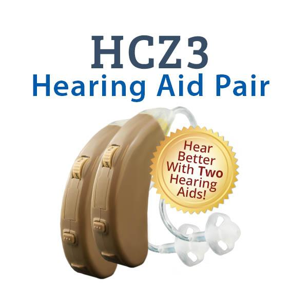 HCZ3 Digital Hearing Aid Pair