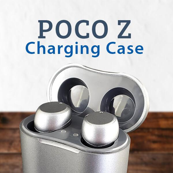 POCO Z Rechargeable Digital Hearing Aids in Charging Case