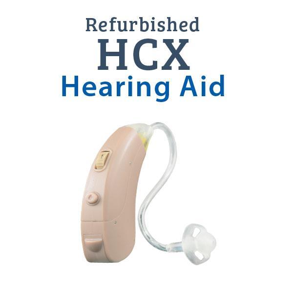 Refurbished HearClear HCX Digital Hearing Aid