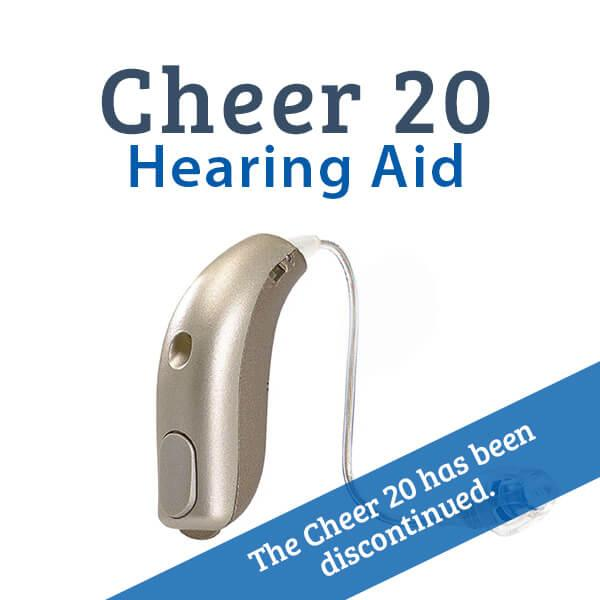 Sonic Cheer 20 Digital Hearing Aid Discontinued