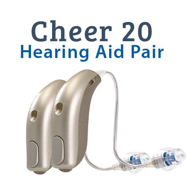 Sonic Cheer 20 Digital Hearing Aid Pair