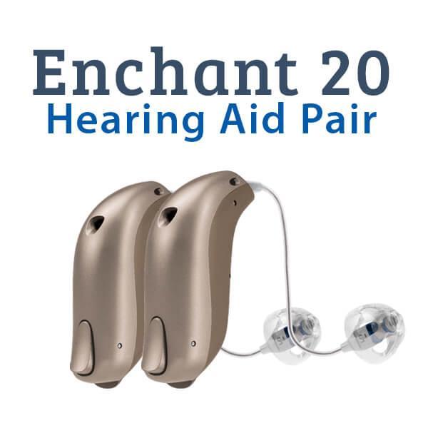 Sonic Innovations Enchant 20 Hearing Aid Pair