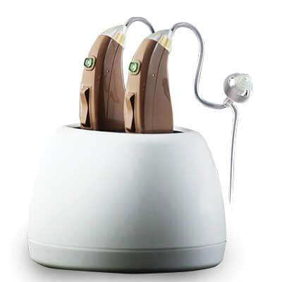 HearClear Go Hearing Aids provide clearer hearing and rechargeable convenience